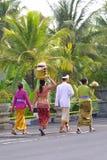 Leute von Bali Stockfotos