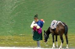 Leute von Ecuador Stockfoto