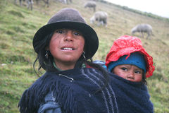 Leute von Ecuador Lizenzfreie Stockbilder