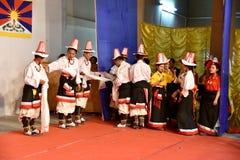 Leute von Nord- Ost-Indien Stockbild