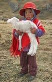 Leute von Peru Lizenzfreie Stockfotos
