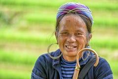 Leute von Sa-PA in Vietnam Stockbilder