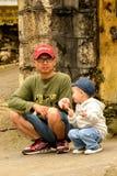 Leute von Sapa, Vietnam Stockbilder