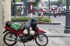 Leute von Stadt Ho Chis MInh Lizenzfreie Stockbilder