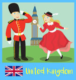 Leute von Vereinigtem Königreich Lizenzfreies Stockfoto