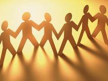 Leute zusammen Lizenzfreies Stockfoto