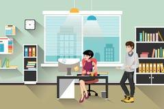 Leutearbeit im Büro Stockfotos