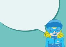 Leutedenken und -völker sprechend mit Dialogspracheblasen Lizenzfreies Stockfoto