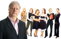 Leutefrauengruppe Stockfotografie