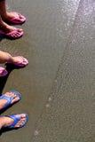 Leutefuß im Wasser Stockfoto