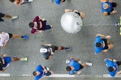 Leutelaufen Stockfotos