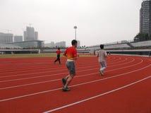 Leutelaufen Stockbilder