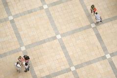 Leutequadrat Lizenzfreie Stockfotografie