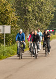 Leuteradfahren stockfoto