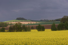 Leutersdorf en Lusatia superior Imagen de archivo libre de regalías