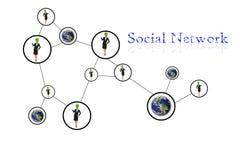 Leutesozialnetzkommunikation Lizenzfreie Stockfotografie