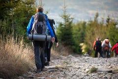 Leutewandern Lizenzfreies Stockbild