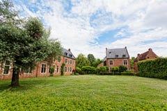 Leuven begijnhof Royalty Free Stock Photo