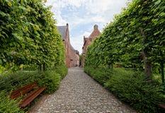 Leuven begijnhof Zdjęcie Royalty Free