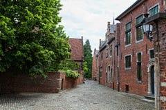 Leuven begijnhof Stock Image