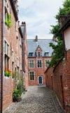 Leuven begijnhof Stock Images