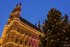Leuven City Hall in Belgium Royalty Free Stock Images