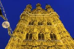 Leuven City Hall in Belgium Royalty Free Stock Photography