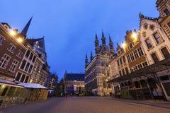 Leuven City Hall on Grote Markt Royalty Free Stock Photo
