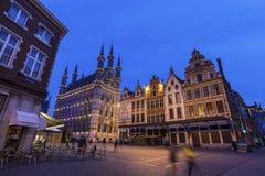 Leuven City Hall on Grote Markt Stock Photo
