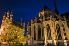 Leuven city view Royalty Free Stock Photography