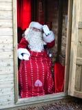 Leuven de Kerstman royalty-vrije stock afbeelding