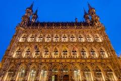Leuven stadshus Royaltyfri Fotografi