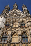 Leuven town hall Royalty Free Stock Photography