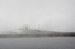 Levée, dock, pilier et rampe de chargement Images stock