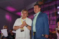 Lev Leshchenko en Yuri Antonov Royalty-vrije Stock Afbeeldingen