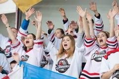 Lev Prague vs. Donbass Donetsk stock photo