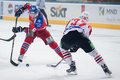 Lev Prague vs. Donbass Donetsk Royalty Free Stock Images