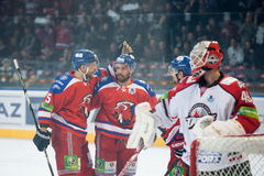Lev Prague vs. Donbass Donetsk Royalty Free Stock Image