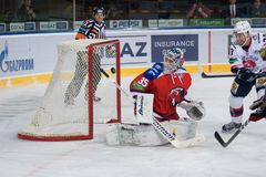 Lev Prague vs Torpedo Nizhny Novgorod Royalty Free Stock Image