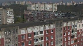 Lev? a?rien Paysage urbain, vieille architecture