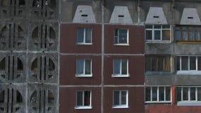 Lev? a?rien Paysage urbain, vieille architecture banque de vidéos