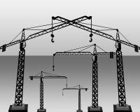 Leva della costruzione Fotografia Stock