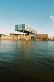 Leva di regolazione Rotterdam, De Brug Immagine Stock Libera da Diritti