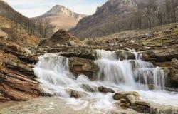 Leva river. Near Vratza (Bulgaria Royalty Free Stock Photo