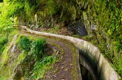 Levada do Norte, Madeira island - Portugal. Levada do Norte, Madeira island, Portugal Royalty Free Stock Images