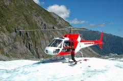 Levage d'hélicoptère Image libre de droits