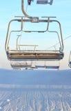 Levage de présidence de ski Photo libre de droits
