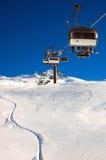 Levage de ski photo libre de droits