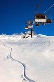 Levage de ski photographie stock libre de droits