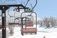 Levage de ski Photo stock